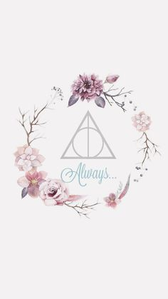 Wallpaper Harry Potter Always Pink girly cute flowers dealthy hallows . - Wallpaper Harry Potter Always Pink girly sweet flowers sanctifies dealthy - Harry Potter Tumblr, Immer Harry Potter, Arte Do Harry Potter, Harry Potter Girl, Harry Potter Drawings, Harry Potter Tattoos, Harry Potter Pictures, Harry Potter Facts, Always Harry Potter Tattoo