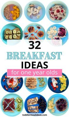 Healthy Toddler Breakfast, Baby Breakfast, Healthy Baby Food, One Year Old Foods, 1 Year Old Meals, 1 Year Old Food, 1 Year Old Snacks, 1 Year Old Meal Ideas, One Year Baby Food
