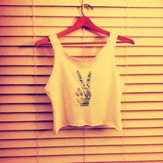 Aztec Peace Tank Wearable Art Tank/Tshirt. $20.00, via Etsy.