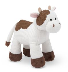 Sweater Sweetie Cow Stuffed Animal | Farm Stuffed Animals | Melissa and Doug