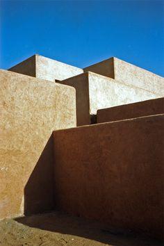 Villa K située dans l'Atlas marocain, architecture Studio KO © Numa Balsan (AD n° 94 juillet-août 2010)