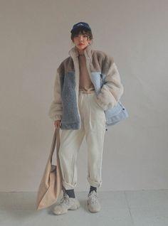 Korean Street Fashion, Asian Fashion, Girl Fashion, Fashion Outfits, Kawaii Fashion, Fashion Styles, Pretty Outfits, Cool Outfits, Casual Outfits