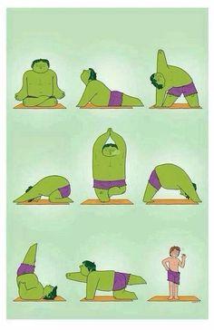 Hulk & Meditation