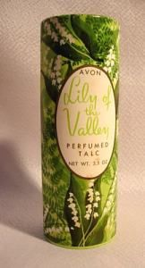 Vintage Avon Lily of the Valley talcum powder