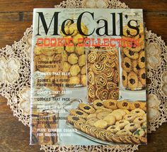 Vintage McCall's Cookie Collection Softcover Book Loaded