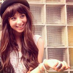 Louisa Rose Allen's cute #bangs
