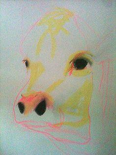 pastel on paper, kari maxwell
