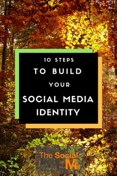 You can use social media to brand yourself as well as your business. Key to successful personal branding is a consistent social media identity.