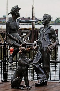 People Like Us bronze, Cardiff Bay, Cardiff, South Wales, UK | Flickr - Photo Sharing!