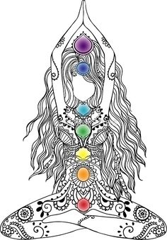 Yoga Om Chakras Mindfulness Meditation Zen 1 | Sticker