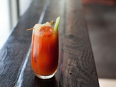 Smoked Bloody Mary {12 red white & blue drinks for the 4th}