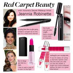 Victoria's Secret Makeup Artist Jeannia Robinette Dishes on Red Carpet Beauty