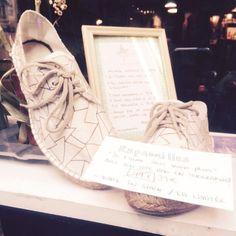 Les dernières paires d'espadrilles sont en soldes… à @baladessonores … #espadrilles #chicamancha #editionlimitee #handmade #pattern #jetaimemoinonplus #baladessonores