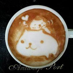 Un cappuccino artistico, by Kazuki Yamamoto