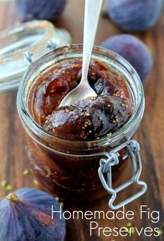 Why you should give a fig about figs. Plus, a tasty fig preserves recipe! | Fit Bottomed Eats