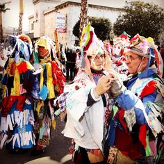 Do you know that Cunder is a typical Istrian #mask?