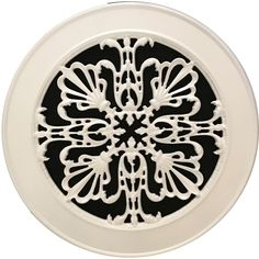 Speaker cover with decorative historic design for ceiling or wall speakers. Comes in 16 finishes. In Wall Speakers, Ceiling Speakers, Recessed Lighting Trim, Air Return, Vent Covers, Basement Kitchen, Antique Radio, Moldings And Trim, Historical Art