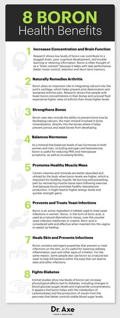 Boron Uses: Boosts Bone Density and Much More - Dr. Axe