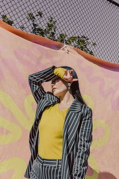 Claire Xue | Weekend Creative #colorful #photography #fashion #fashionphotography #suit #womensuit #pink #workwear #solarwaves #womensfashion Photography Tips, Solar, Editorial, Waves, Suits, Creative, Outfits, Photo Tips, Suit