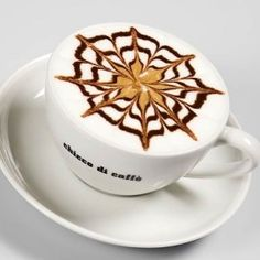 Latte Art Photo: This Photo was uploaded by Paranoia_Doll. Find other Latte Art pictures and photos or upload your own with Photobucket free image and v. Coffee Latte Art, Coffee Barista, Coffee Cups, How To Make Coffee, I Love Coffee, Best Coffee, Coffee Break, Chocolate Cafe, Create A Cake