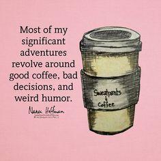 Truth. #coffee #coffeeaddict #coffeelove #deathbeforedecaf #coffeequotes #coffeememe #sweatpantsandcoffee
