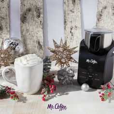 Who else thinks this is the most magical time of the year? #MrCoffee