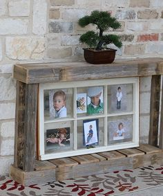 Doug & Cristy Designs Natural Single Top Console Table   zulily
