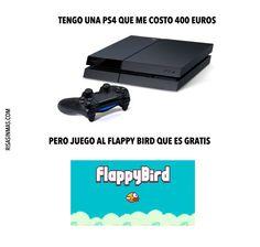 PS4 vs Flappy Bird
