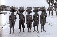 1947, Descarregadores de Peixe, Setúbal, Portugal