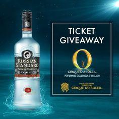 Win A Trip To Las Vegas - Las Vegas Trip, Win A Trip, Vodka Bottle, Amazing, Cirque Du Soleil, Vodka