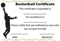 Basketball coach appreciation certificate basketball certificate youth basketball certificate templates yadclub Choice Image