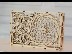Kinetic picture by WOODEN.CITY - YouTube