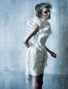 Central Saint Martins presents The White | Fashion, Photo Shoots | 1 Granary.