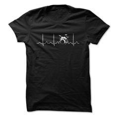 DRUMS HEARTBEAT T-Shirts, Hoodies. ADD TO CART ==► https://www.sunfrog.com/Music/DRUMS-HEARTBEAT-80942411-Guys.html?id=41382