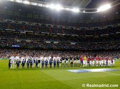 Real Madrid 5-1 Basel at Estadio Santiago Bernabéu.