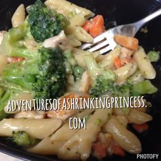 Garlic Chicken and Broccoli Pasta 21 Day Fix Approved