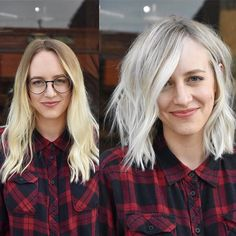 Platinum With A Shadow Root - Behindthechair.com
