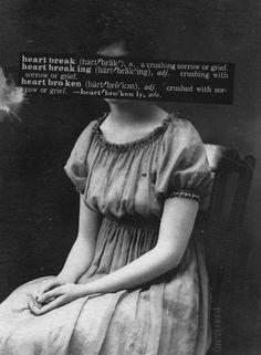 The definition on heartbroken.