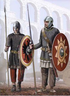 Late Roman Legionaries, fourth century AD.