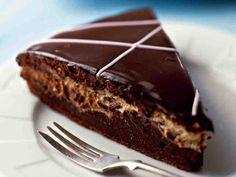 Toffeinen suklaa-halvakakku - Reseptit