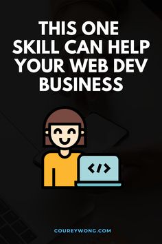 This One Thing Will Make You Valuable As A Developer | When it comes to learning the skills to become a web developer it's pretty simple. But there are programmers who got into coding to learn how to make money from their valuable skills. Yet they didn't develop this important skill that can make a huge difference. Whether you're trying to get a job or start freelancing. This one skill will put you one step closer to success. | web developer | learn to code #businesstips Learn Computer Science, Computer Programming, Learn Html, Learn To Code, Business Tips, Online Business, Coding For Beginners, Learning Web, Coding Languages