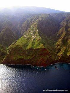 El Tablado, Garafía. La Palma Tenerife, Canario, Canary Islands, Great Love, Holiday Travel, The Good Place, Volcanoes, River, World