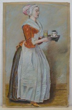 JEAN-LIOTARD-1702-1789-GENF-PASTELL-GEMALDE-WIEN-SCHOKOLADENMADCHEN-MEISTERKOPIE New Day, Art For Sale, Painting, Ebay, Geneva, Pastel, Painting Art, Kunst, Brand New Day