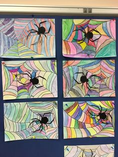 Art Journals and Creative Inspiration (or Admiration) Kindergarten Architecture, Dibujos Cute, Art Plastique, Elementary Art, Op Art, Art School, Art Education, Halloween Crafts, Diy For Kids