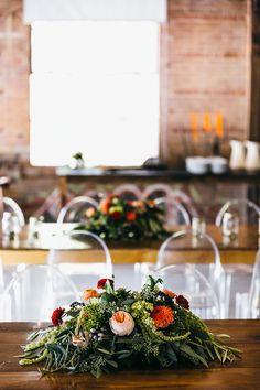 Stylish Wedding in Toronto ⋆ Ruffled Camp Wedding, Wedding Blog, Wedding Day, Floral Centerpieces, Floral Arrangements, Toronto Wedding, Botany, Floral Design, Table Decorations