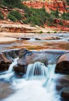 Slide Rock, Sedona, Arizona
