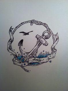 Tattoos Cool Symbols Representing 3 Kids for Men . Tattoos Cool Symbols Representing 3 Kids for Men . Pin On Design Tattoo Ideas Future Tattoos, New Tattoos, Body Art Tattoos, Tattoo Drawings, Tatoos, Tatto Old, Tatoo Henna, I Tattoo, Family Anchor Tattoos