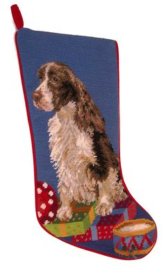 A Love Of Dogs - Springer Spaniel Christmas Stockings – For the Love Of Dogs - Shopping for a Cause