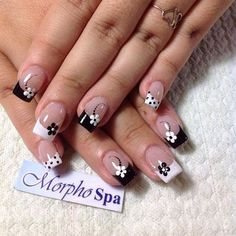 Best French Manicures - 71 French #manicure Nail Designs - Best Nail Art