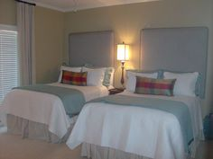 The double bed in a room is great for a big sized family or for a guest bedroom.  #shopsomethingsouthern